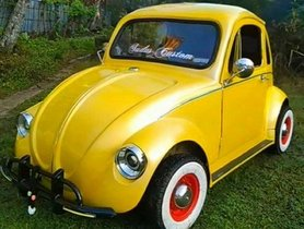 This Homemade Modified Volkswagen Beetle Looks Insanely Beautiful