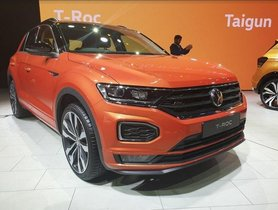 Jeep Compass-rivalling VW T-Roc Garners 300 Bookings