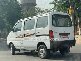 Maruti Eeco CNG BS6 Spied Testing On Indian Roads