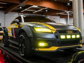This Audi TT Safari Is A Really Stylish Off-Roader