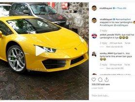 Has Emraan Hashmi Bought The Ravishing Lamborghini Huracan?
