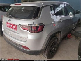 BSVI-Compliant More Powerful Jeep Compass Petrol Spied