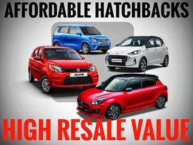 5 Affordable Hatchbacks with Highest Resale Value in India
