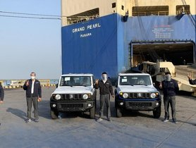 Maruti Suzuki Commences 3-Door Jimny Exports From India