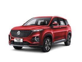 7-Seater MG Hector Plus Select Goes On Sale Before Tata Safari Launch