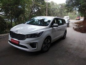 Kia Carnival Spied Testing Ahead Of Launch Next Month