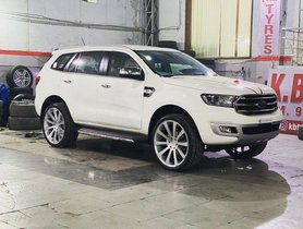 Ford Endeavour with Humongous 24-inch Mags Looks Truly American