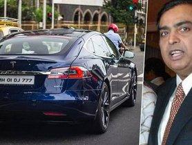 "Mukesh Ambani Adds A ""Second-Hand"" Tesla Model S To His Garage"