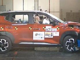 Nissan Magnite Scores 4-Star Rating In A-NCAP Crash Test