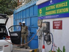 Electric Vehicle Charging Stations in India: Challenges and Future Directions