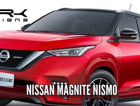 Nissan Magnite NISMO Rendered Digitally, Looks DOPE