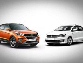 Hyundai Creta and Volkswagen Vento Compete In A Drag Race