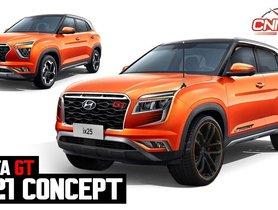 2020 Hyundai Creta Reimagined In GT Trim of Kia Seltos