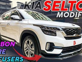 Check Out These Aftermarket Accessories For Kia Seltos HTE And HTX