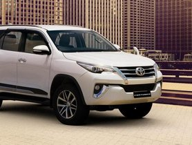 2020 Toyota Fortuner BS-6 Model Launched, Prices Start At Rs. 28.18 Lakhs