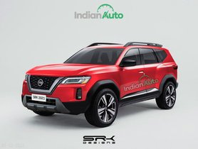 Nissan-badged Dacia Bigster Rendered, New Nissan Terrano?