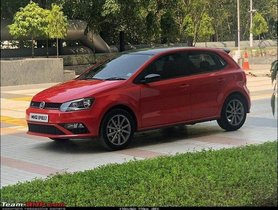 Facelifted VW Polo And VW Vento Spotted At Pune Showroom