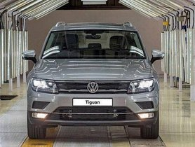 Volkswagen Tiguan Available with a discount of Rs. 3 lakh