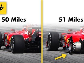 This Is Why F1 Tyres Last Only 120 Kms Instead Of 12,000 - VIDEO