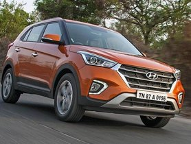 Hyundai Creta Available With Nearly INR 1 Lakh Discount
