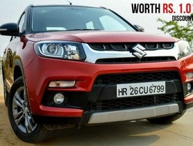 Maruti Vitara Brezza And Dzire Offered With Up To INR 1 Lakh Discounts