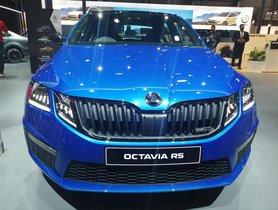 Skoda Octavia vRS Makes A Return To Indian Market at Auto Expo 2020