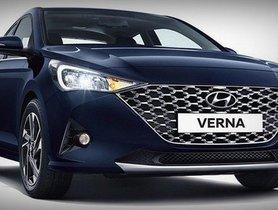 2020 Hyundai Verna Ready for Launch with a Powerful Turbo Petrol Engine