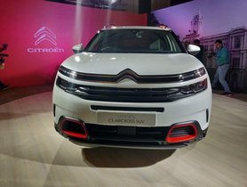 Citroën C5 Aircross India Launch Confirmed, To Happen By September 2020
