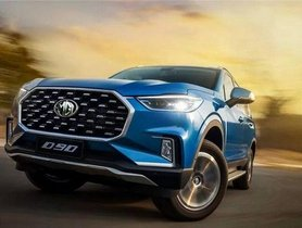MG Could Bring In Maxus D90 SUV at Auto Expo 2020