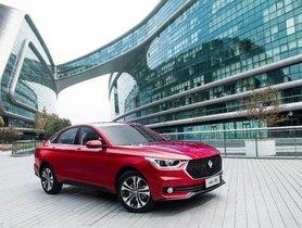 MG Sedan To Be Showcased At Auto Expo 2020