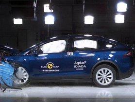 Tesla Model X Awarded 5-star Rating From Euro NCAP