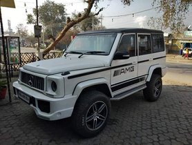 This Tata Sumo has been Customized to Looks Like Mercedes-Benz G Wagon