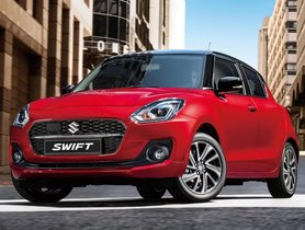 Maruti Swift Facelift To Launch Soon With Powerful Engine & Subtle Cosmetic Tweaks