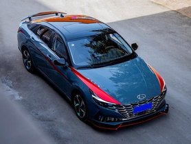 First-ever Modified 2021 Hyundai Elantra from China Looks Sick