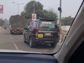 Surprise! Tata Safari Storme Spotted On Test – But Why?