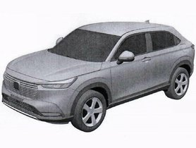 2021 Honda HR-V Leaks in New Patent Drawings Ahead of Unveil on 18 Feb