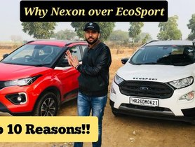10 Reasons Why You Should Choose Tata Nexon over Ford EcoSport – VIDEO
