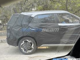 Upcoming 7-seater Hyundai Creta Snapped While Testing