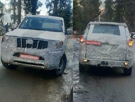New-gen Mahindra Scorpio Spotted During High Altitude Testing