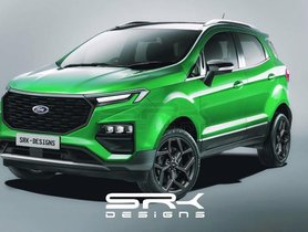 2021 Ford EcoSport Rendered, Can New Looks Bring Back The Hype?