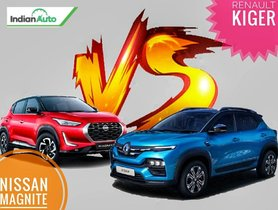 Renault Kiger vs Nissan Magnite Comparison – Design, Features, Specifications & more