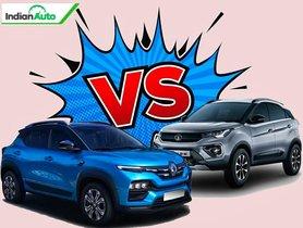 Renault Kiger vs Tata Nexon Comparison – Design, Specs, Features, Price & more