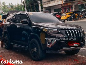 This Modified Toyota Fortuner Looks Like It Belongs To Darth Vader