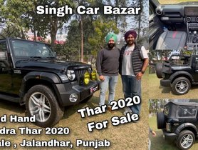 This Used 2020 Mahindra Thar Can Help You Evade Long Waiting Period