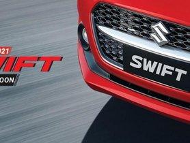 2021 Maruti Swift Facelift Official Teaser Released