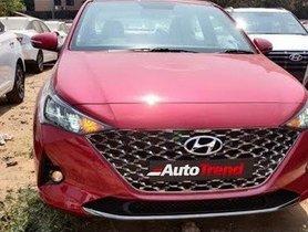 Top-spec Hyundai Verna Facelift Detailed in Latest Walkaround Video