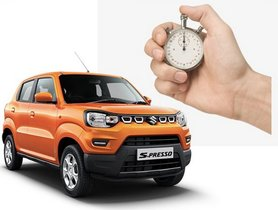 1 Maruti S-Presso Being Sold Every 5 Minutes!