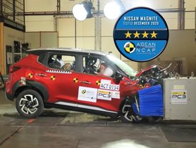 4-star ANCAP Safety Rating Confirmed For Nissan Magnite