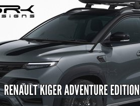 This Renault Kiger Adventure Edition Looks Ready To Tackle The Rough Roads
