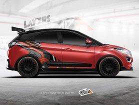 Crazy Dual-Tone Wrap & Body Kit Make Tata Nexon Look Race-ready